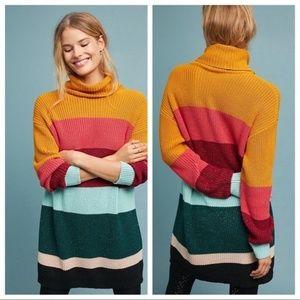 Rio Boldly Striped Sweater Dress